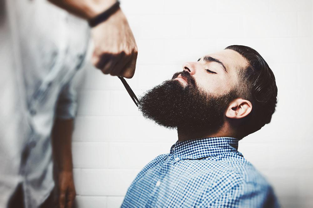 shaving-man